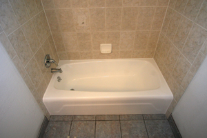 Tub after finish