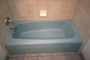 Tub before finish