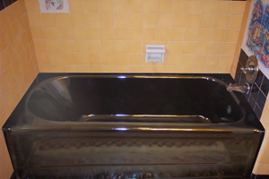 Tub after refinish